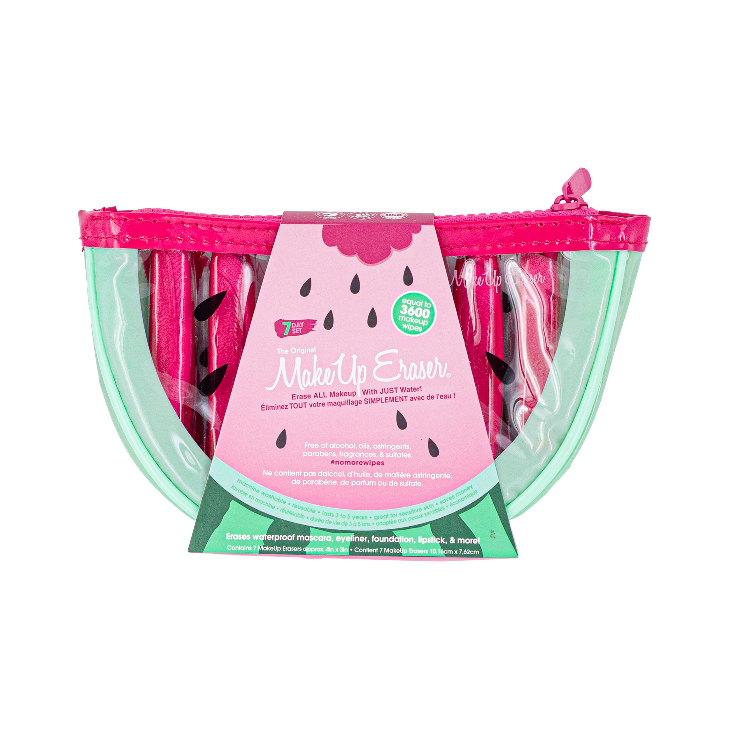 Makeup Eraser 7 - Day Watermelon Set