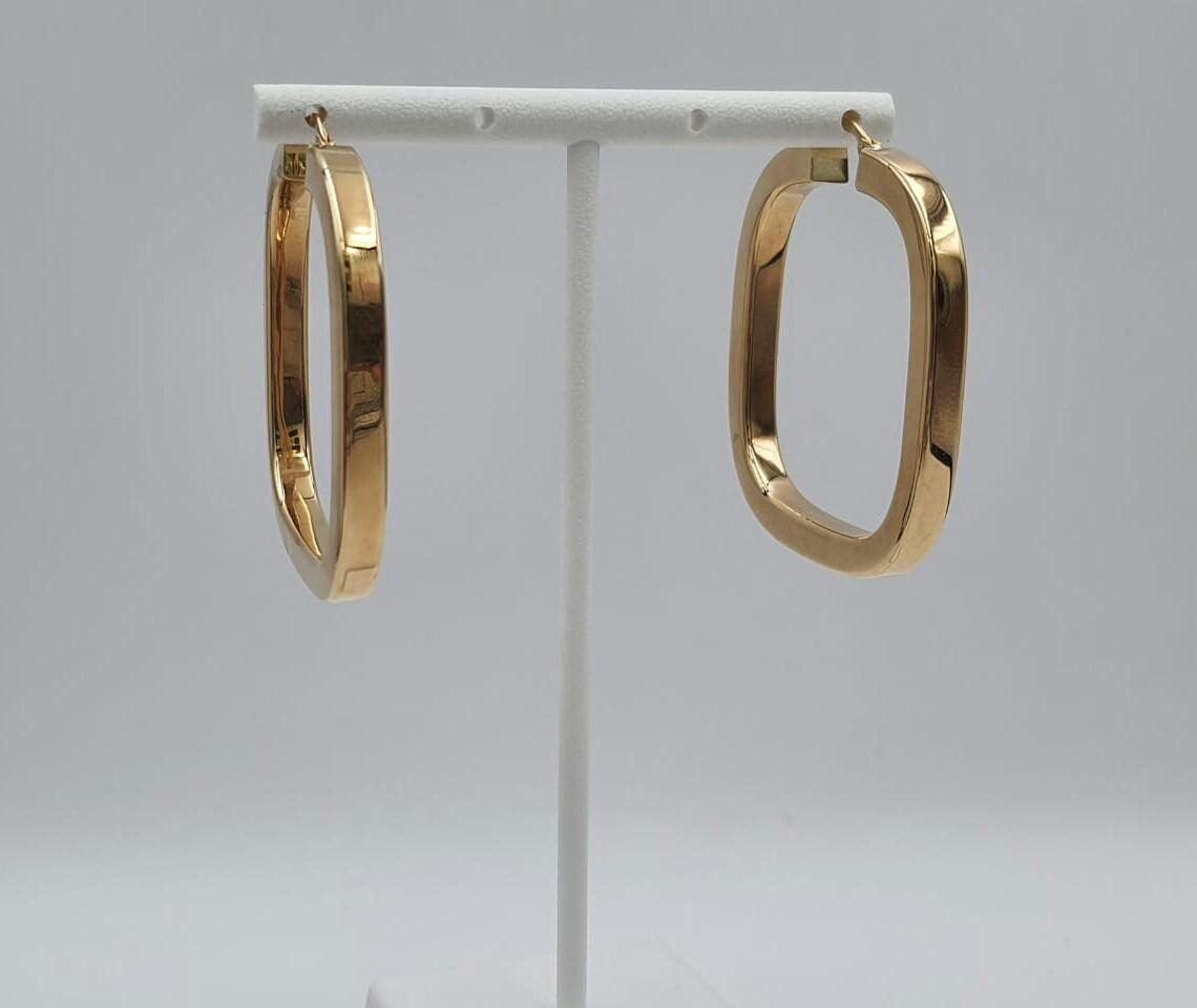 Argollas en oro 14K 805173
