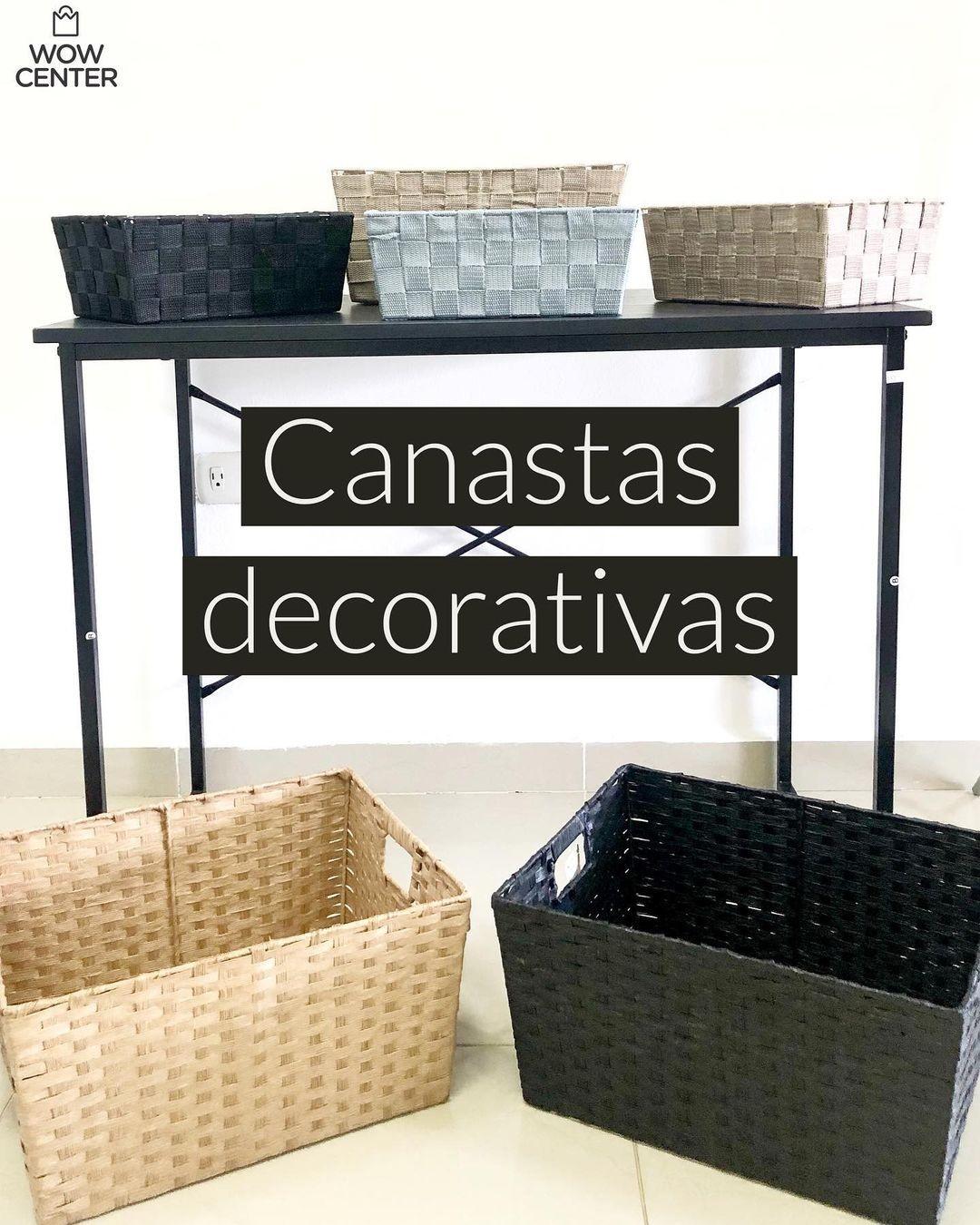 Canastas Decorativas