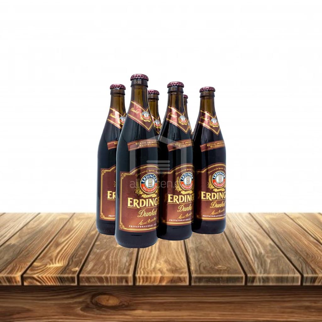 Cerveza Erdinger Dunkel  Sixpack