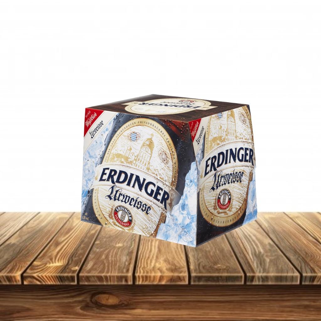 Cerveza Erdinger Weissbier Caja