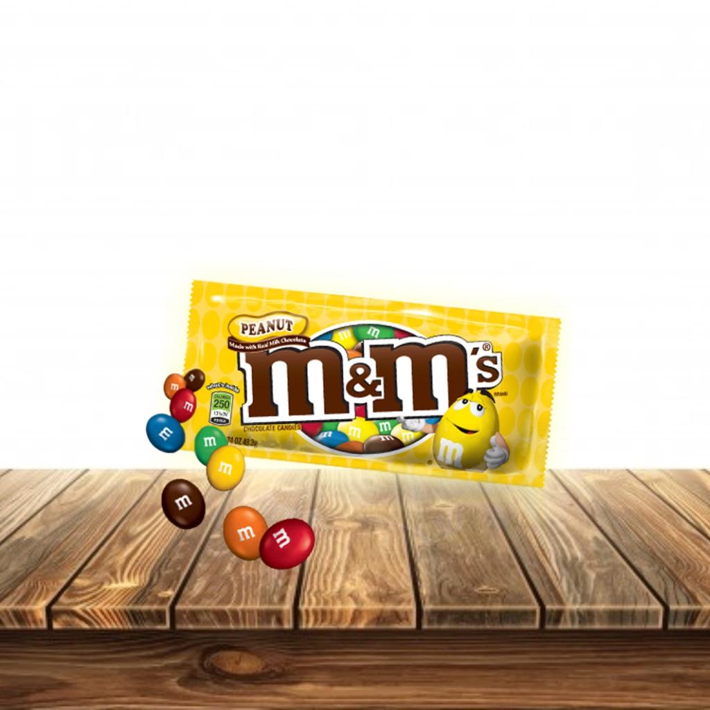 m&m  Peanut Chocolate47.3 gr