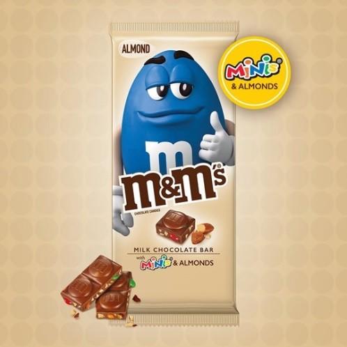 m&m's Minis ALMOND - Barra Chocolate 110.6 g