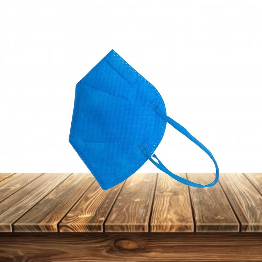 Mascarilla KN95 Azul Eléctrico