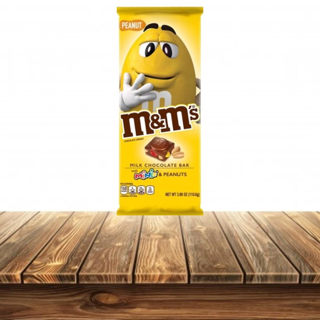 m&m's Minis PEANUT - Barra Chocolate 110.6 g