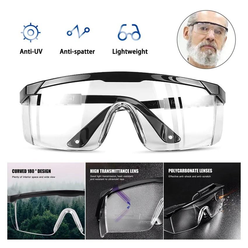 Gafas de Bioseguridad - protección 180 Grados