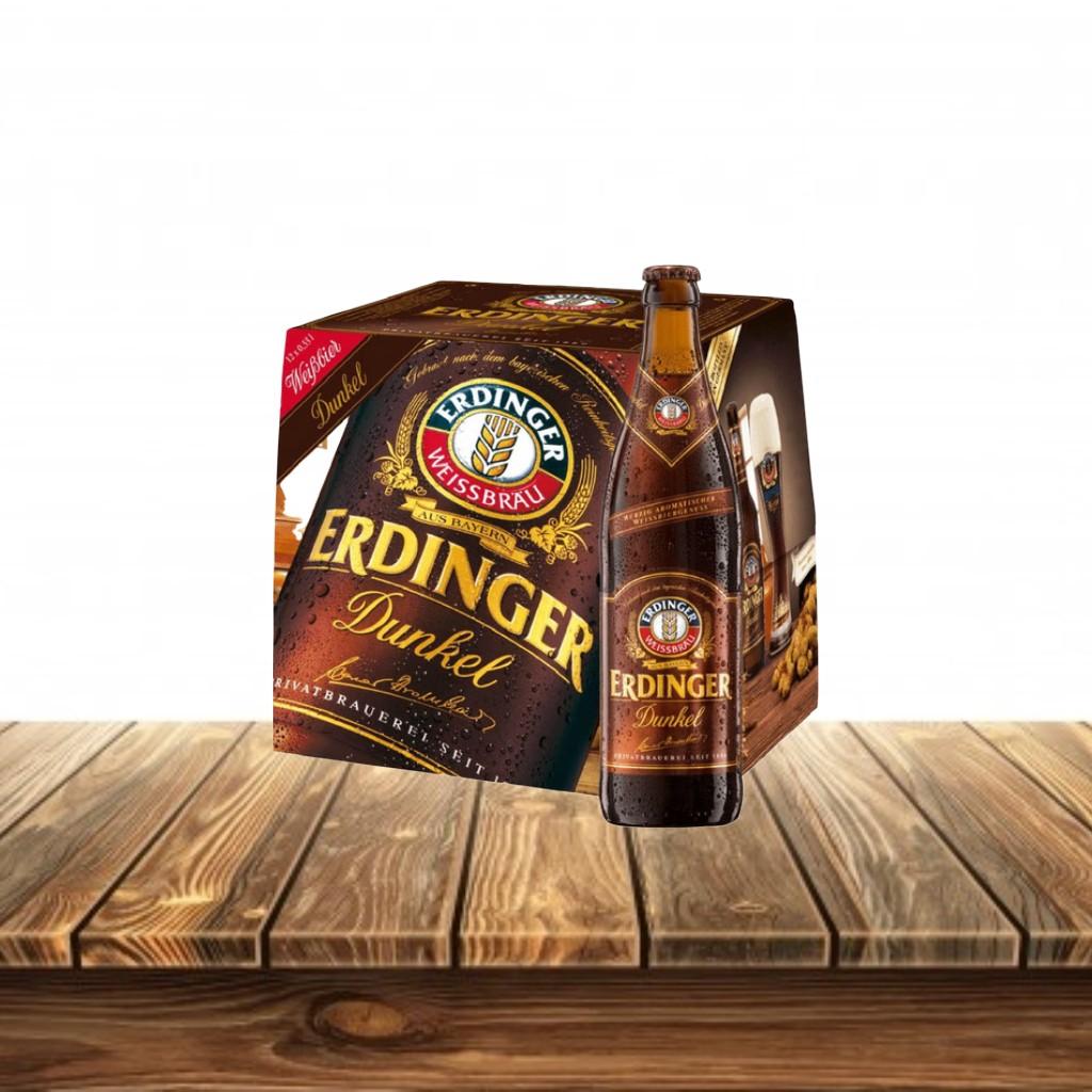 Cerveza Erdinger Dunkel Caja