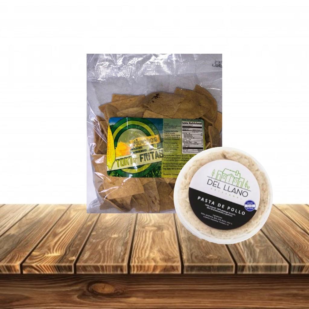Promocion Pasta de Pollo + Nachos