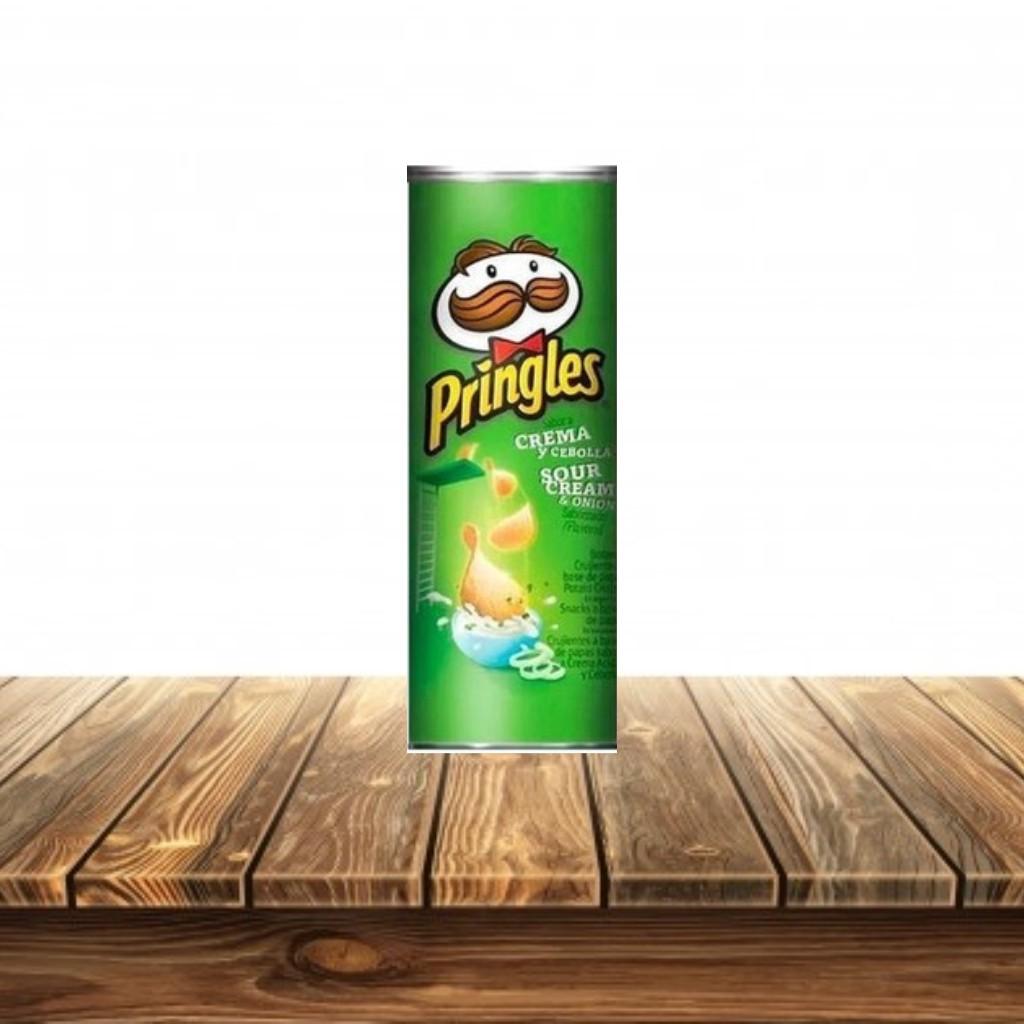 Pringles Papitas Crema Cebolla Unidad 158 gr