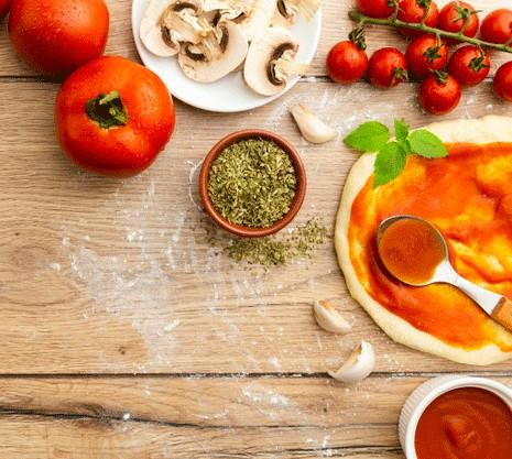Salchicha Italiana y hongos