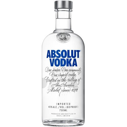 Absolut Vodka 750ML.