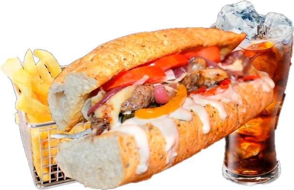 La Carias Cheese Steak Sandwich